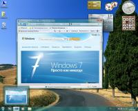 Скачать образ Windows 7 x32-x64 Rus SP1